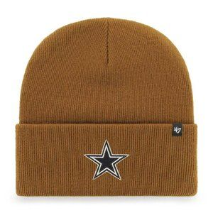 Dallas Cowboys '47 Carhartt Brown Knit Hat